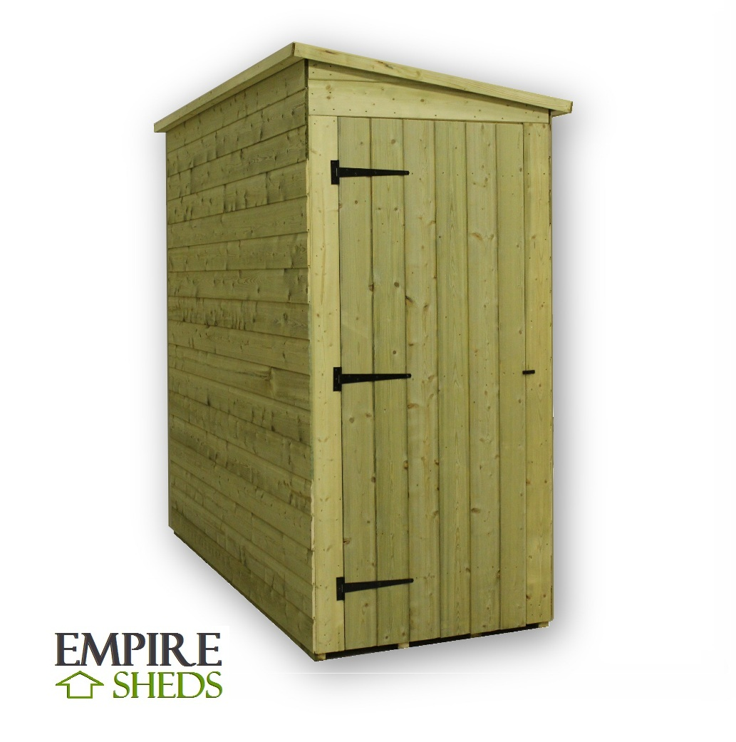 Rapo 8x6 Shed With Side Door
